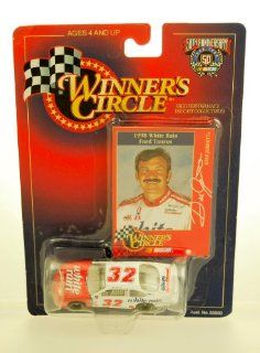 1998   Kenner   Winner's Circle   NASCAR 50th Anniversary   Dale Jarrett #32   Rare   White Rain   Ford Taurus   164 Scale Die Cast   Limited Edition   Collectible Toys & Games