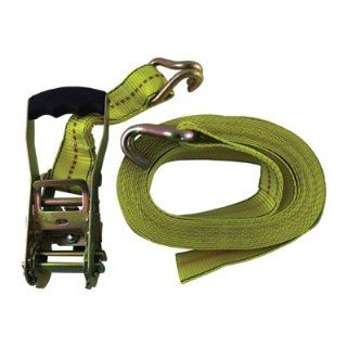 "2"" x 27 Ft. Heavy Duty Ratchet Tie Down Truck Bed Cargo Strap"