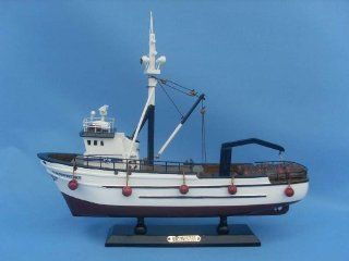 "Northwestern 14""   Deadliest Catch Model Fishing Boat   Already Built Not a Kit   Wooden Scale Fishing Boat Replica Fishing Ship Model Nautical Home Beach Wall D�cor or Gift   Sold Fully Assembled   Hobby Pre Built Model Boats"