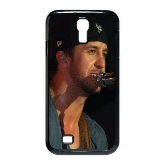 Custom Luke Bryan Cover Case for Samsung Galaxy S4 I9500 S4 2191 Cell Phones & Accessories