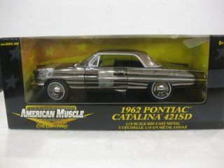Rare 1962 Pontiac Catalina 421SD in Chrome Diecast 118 Scale Limited Edition American Muscle By Ertl Collectibles Toys & Games