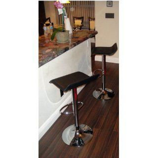 Winsome Wood Air Lift Adjustable Stools, Set of 2   Barstools Without Backs