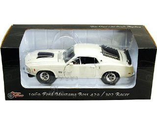 Phoenix Unique Replicas   Ford Mustang Boss 429 Hard Top (1969, 124, Creamy White) Toys & Games