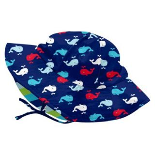 I Play Infant Toddler Boys Whale Hat