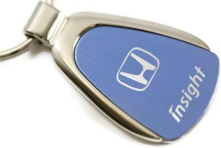 Honda Insight Blue Teardrop Key Fob Authentic Logo Key Chain Key Ring Keychain Lanyard Automotive