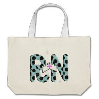 "Registered Nurse Gifts ""RN"" Canvas Bags"