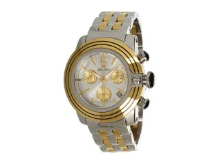 Glam Rock Lady Sobe 40mm Two Tone Gold Plated Chronograph Watch Gr31115 Two Tone