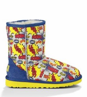 UGG Australia Kids' Classic Short Comic Boot Shoes