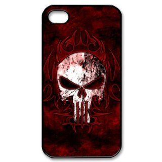 Custom Zombies Skull Cover Case for iPhone 4 4s LS4 3723 Cell Phones & Accessories