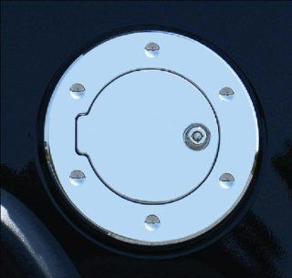 Rampage 85015 Polished Locking Billet Style Gas Cover Automotive