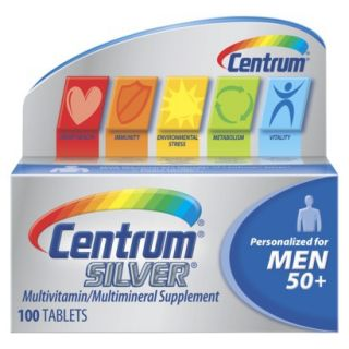 Centrum Silver Mens 50+ Multivitamin   100 Count