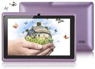 "7"" Inch Tablet Pc MID Purple 4gb Android 4.1 Capacitive Touch Screen  Tablet Computers  Computers & Accessories"