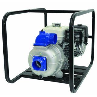 "IPT Pump 3P9XHR Engine Driven Portable High Pressure Pump with Honda GX270 Engine, Aluminum, 8 HP, Curve B, 3"" NPT Male Suction & Discharge Ports Industrial Pumps"