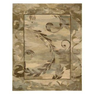 Nourison RF01 Reflections Area Rug   Taupe   Hand Tufted Rugs