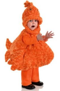 Big Mouth Goldfish Plush Belly Toddler Costume Clothing
