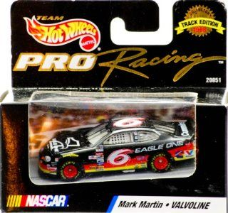 1998   Mattel   Team Hot Wheels   Pro Racing   Track Edition   NASCAR   Mark Martin   #6 Eagle One   Ford Taurus   Out of Production   New   Limited Edition   Collectible Toys & Games
