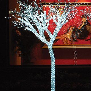 Giant Lighted LED Commercial Grade Ice Tree Christmas Decoration Display 8'  Yard Art  Patio, Lawn & Garden