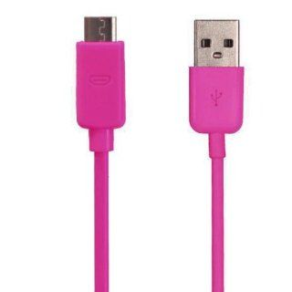 Importer520 Hot Pink 3Ft Micro USB Data Cable Charger for Samsung Galaxy i9300 i9100 i9220 i9000 S3 HTC One S / V / X / VL Phone Universal Mobile Phone  MP4 F65 Cell Phones & Accessories