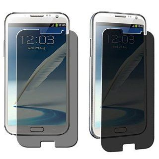 Importer520 Anti Spy Privacy LCD Screen Cover Guard for Samsung Galaxy Note II Note 2 N7100 Verizon Cell Phones & Accessories