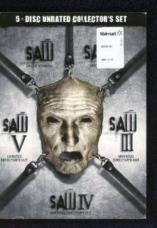 SAW Complete Horror Collection DVD BOX 1.2.3.4.5 Unrated, Uncut I V Movies & TV