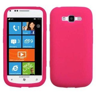 Importer520 Silicone Rubber Gel Soft Skin Case Cover for Samsung Focus 2 i667 (Hot Pink) Cell Phones & Accessories
