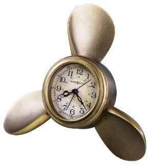 Howard Miller 645 525 Propeller Alarm Weather & Maritime Table Clock   Electronic Alarm Clocks