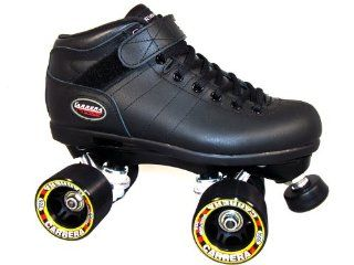 Riedell Carrera Black Mens Boys Ladies Womens Girls Kids Childrens Youth Quad Speed Roller Skates  Sports & Outdoors