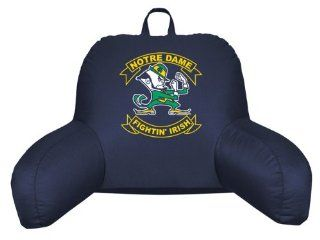 Best Quality Notre Dame Fighting Irish Bedrest Pillow Midnight By Pem America   Sports Fan Backrests