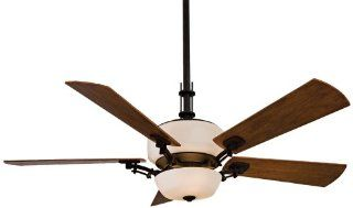 Minka Aire Ceiling Fans F842BK VintageCraft Fan   Kathy Ireland Black Uplight Indoor Fan 54""
