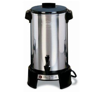West Bend 43536 Aluminum 36 Cup Commercial Coffee Urn Kitchen & Dining