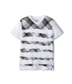 Hurley Kids Torn Tee Boys T Shirt (White)