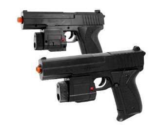 BBTac Dual Spring M555AF Pistols 135 FPS Spring Airsoft Gun (Two Pack)  Sports & Outdoors