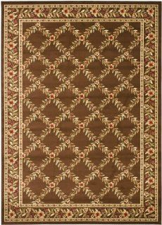 Safavieh Lyndhurst Collection LNH557 2525 Brown Area Rug, 8 Feet by 11 Feet