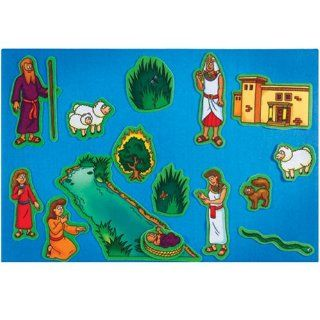 Beginners Bible   Moses Flannelboard Figures   Pre Cut Toys & Games