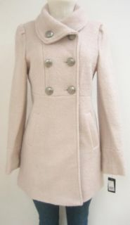 Guess Baby Doll Wool Coat, Jacket, Pink, Large, Mh564
