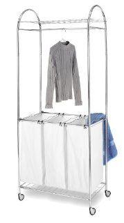 Whitmor 6097 570 BB Chrome Laundry Center