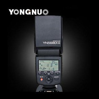 YONGNUO YN568EX II Master TTL Flash Speedlite High Speed Sync for Canon up to 1/8000s  On Camera Shoe Mount Flashes  Camera & Photo