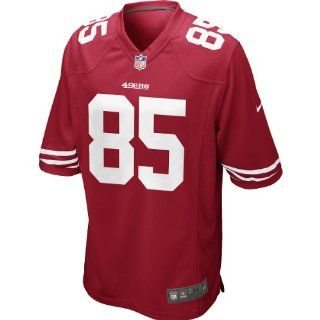 Nike Men's NFL San Francisco 49ers (Vernon Davis) Game Jersey Size X Large  Sports Fan Jerseys  Sports & Outdoors