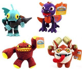 "Skylanders Giants Talking Small 7"" Plush   Full Set Toys & Games"