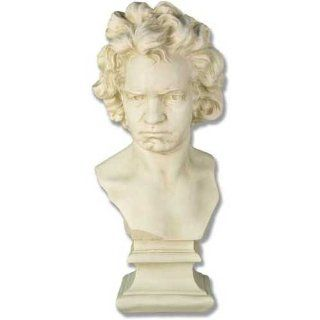 "Shop 26.5"" Ludwig van Beethoven Bust Sculpture Statue at the  Home D�cor Store. Find the latest styles with the lowest prices from Artistic Solutions"
