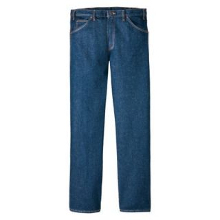 Dickies Mens Regular Fit 5 Pocket Jean   Indigo Blue 40x30
