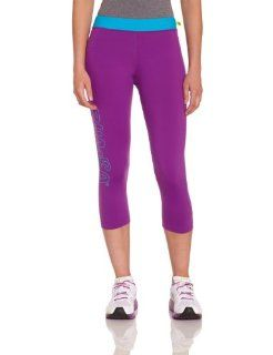 Zumba Fitness Women's Crave Worthy Capri Leggings  Athletic Leggings  Sports & Outdoors