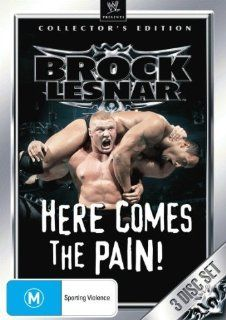 WWE Brock Lesnar Here Comes The Pain Collectors Edition (3 Discs) DVD Andre The Giant, John Cena, Brock Lesnar, Kurt Angle, Steve Austin Dave Bautista Movies & TV