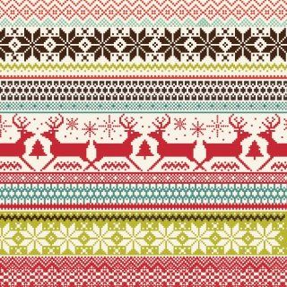 Jillson Roberts Full Ream Recycled Christmas Gift Wrap, Sweater Print, 833 Feet x 30 Inch (XB580)  Gift Wrap Paper