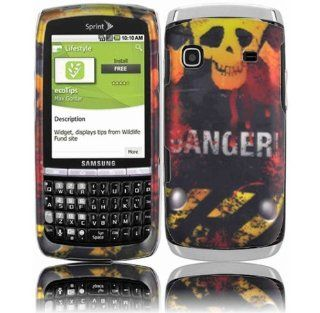 Danger Hard Case Cover for Samsung Replenish M580 Cell Phones & Accessories