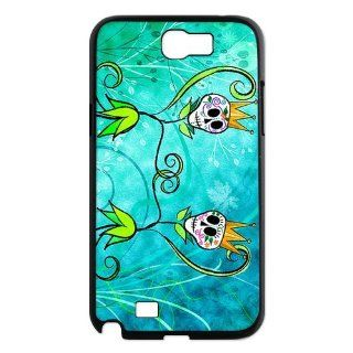 Designyourown Case Skull Samsung Galaxy Note 2 Case Samsung Galaxy Note 2 N7100 Cover Case SKUnote2 596 Cell Phones & Accessories