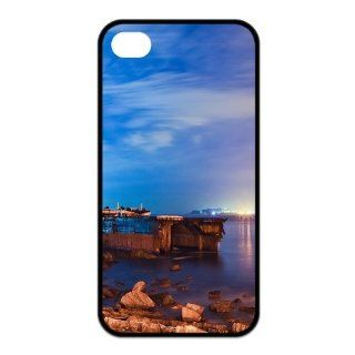 Personalized Design Popular A Wrecked Boat In The Ocean TPU Case Iphone 4/4s Case Protector Cell Phones & Accessories