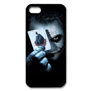 Custom Batman Joker Cover Case for IPhone 5/5s WIP 595 Cell Phones & Accessories