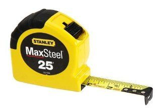 Stanley 33 599 25 Foot MaxSteel Contractor Grade Tape Rule   Tape Measures