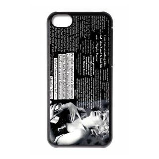 Custom Marilyn Monroe Cover Case for iPhone 5C W5C 603 Cell Phones & Accessories